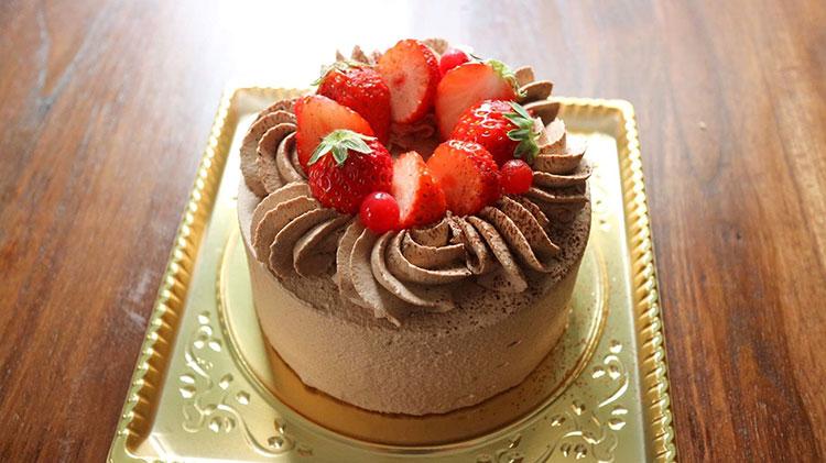チョコレートショートケーキ|オリイーリオ oliilio 大切な愛犬ととっておきの時間をすごせるDOGドッグカフェ&ダイニング